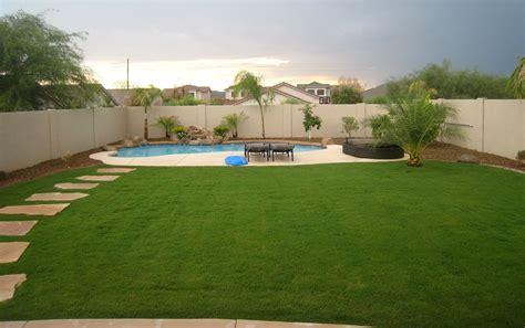 great backyards  grass maintenance gardens