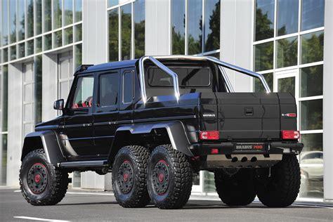 mercedes benz g class 6x6 interior brabus builds 700hp 6x6 g class mbworld
