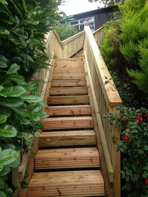 Holz Garten by Gartentreppe Holz Gartenideen Mit Treppen Garten