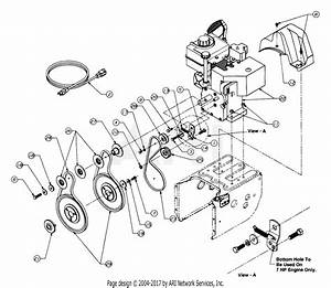 Mtd 315e633e401  1995  Parts Diagram For Engine And V