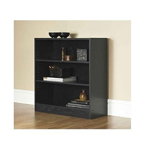 3 Foot Wide Bookcase by Mylex Mainstays 3 Shelf Bookcase Wide Bookshelf Storage