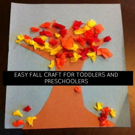 easy fall craft for toddlers and preschoolers momstown 668 | fall craft header 0
