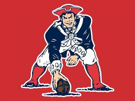 Old School Patriots Mascot . . . Okay, So, I'm A Loyal New