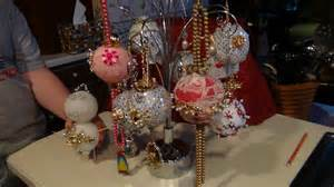 how to make heirloom christmas ornaments with jewelry youtube
