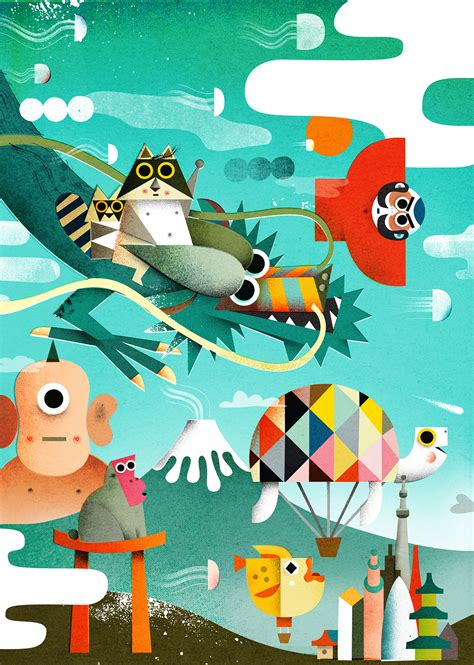 Series of Playtime Illustration by Philip Giordano ...