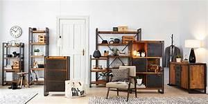Wohnzimmer Industrial Style : leben im urban loft style ~ Whattoseeinmadrid.com Haus und Dekorationen