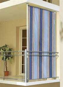 seitensichtschutz balkon balkon seitensichtschutz sichtschutz und sonnenschutz bader