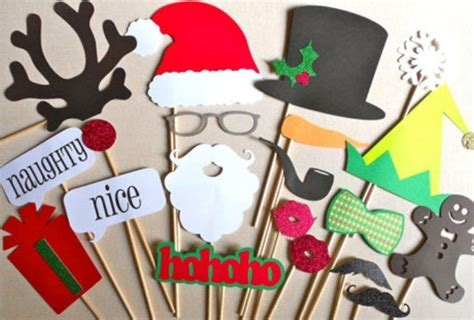 christmas party ideas photo booth canvas factory