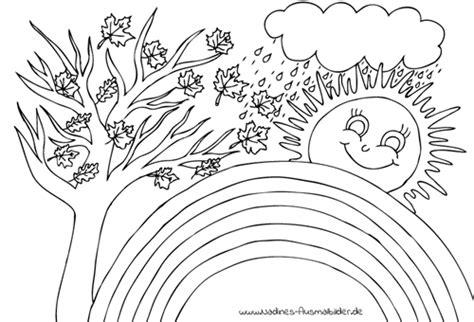 Ausmalbilder Wald & Pflanzen