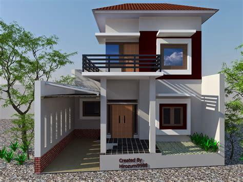 model desain rumah  lantai minimalis