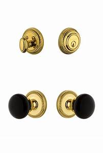 Newport Rosette With Coventry Knob And Deadbolt Combo Pack