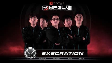 mpgl dota roster reveal execration mineskinet