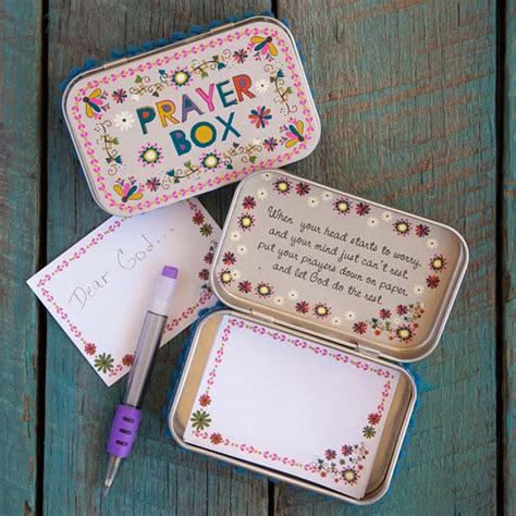 natural life flower prayer box  paper store