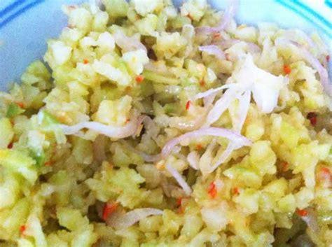 cuisiner chouchou recette rougail chouchou de la réunion