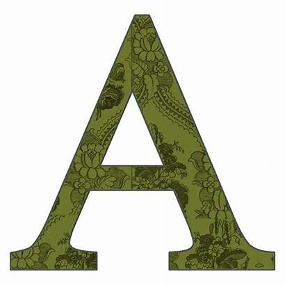 Alphabet Scrapbook Letters Letter Transparent Background Enchanted