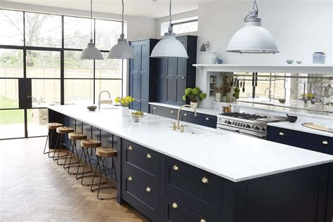 stunning kitchen  blakes london love  white worktops