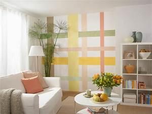 Farben Für Wände Ideen : neue ideen f r w nde selber machen heimwerkermagazin ~ Markanthonyermac.com Haus und Dekorationen