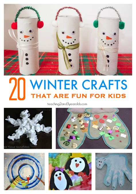 20 preschool winter crafts 410 | 20 winter crafts for preschoolers. 1