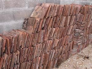Tuile Plate Terre Cuite : tuiles plates terre cuite tuile plate en terre cuite ~ Melissatoandfro.com Idées de Décoration