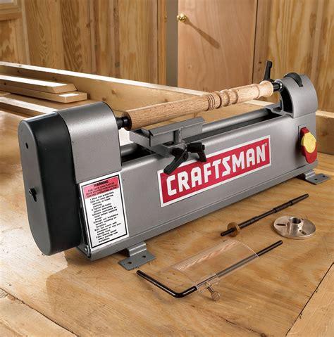 craftsman mini lathe  bonus  pc mini turning set