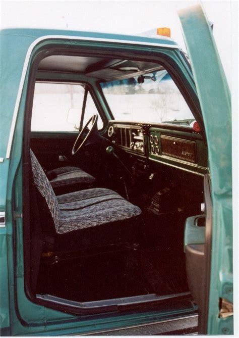 ford  series truck showroom