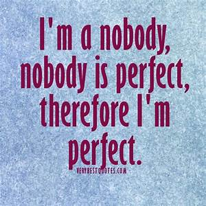 Nobody Is Perfect Möbel : no one is perfect quotes quotesgram ~ Bigdaddyawards.com Haus und Dekorationen