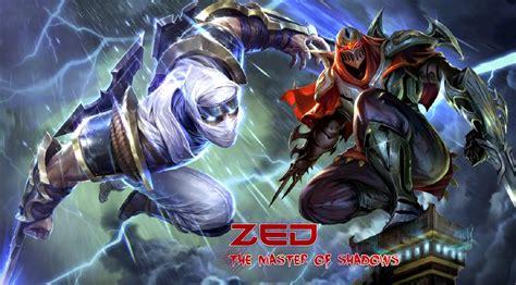 Zed League Of Legends Wallpaper, Zed Desktop Wallpaper