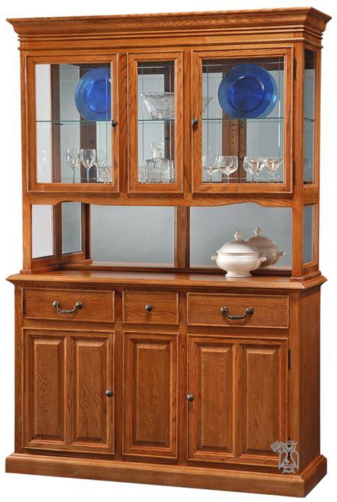 oak china cabinets for chromecraft chinas oak premier buffet hutch china
