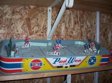table top hockey game pee wee hockey hockeygods