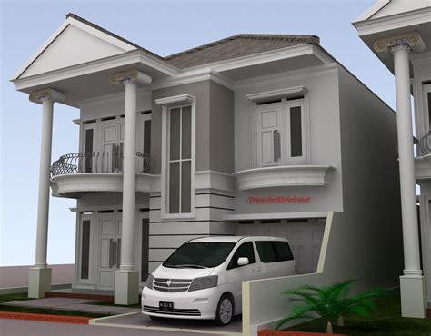 contoh gambar denah rumah klasik