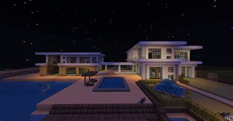 minecraft beach house large modern beach house