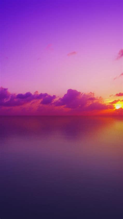 wallpaper maldives sunset purple hd nature