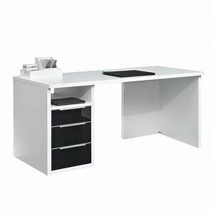 Schreibtisch Weiß Schwarz : jetzt bei home24 schreibtisch von arte m home24 ~ Buech-reservation.com Haus und Dekorationen