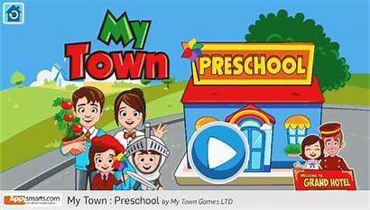 Town Play Preschool Role App Interactive Games