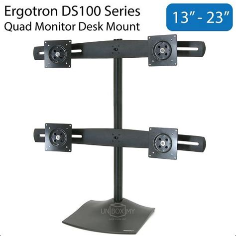 Desk Mount Monitor Arm Malaysia by Ergotron Ds100 13 23 Inch Monit End 1 9 2018 10 15 Am