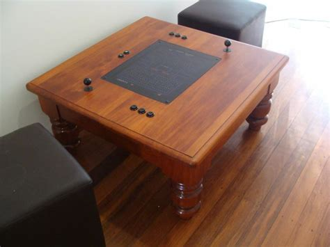 Coffee Table Arcade Machine  Woodworking Projects & Plans