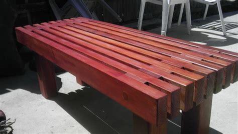 modern outdoor bench design  diy wooden garden bench ign