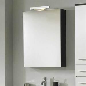 Badezimmer Spiegelschrank Yanitas In Anthrazit Pharao24de