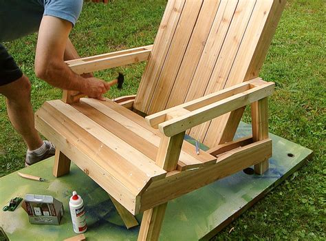 build wood lawn chairs  woodworking