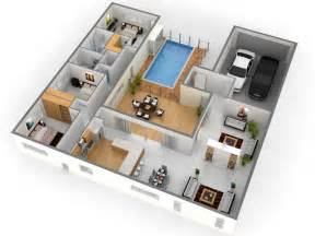 3d Plan Of House Photo by Bedroom Position In Home Design Plans 3d This For All