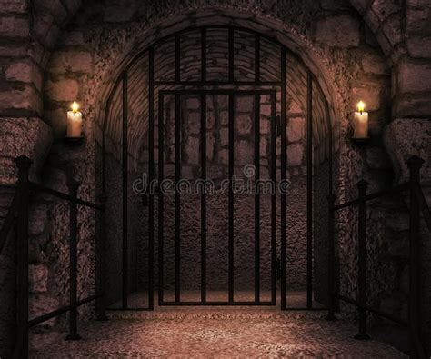 prison castle backdrop stock image image  house