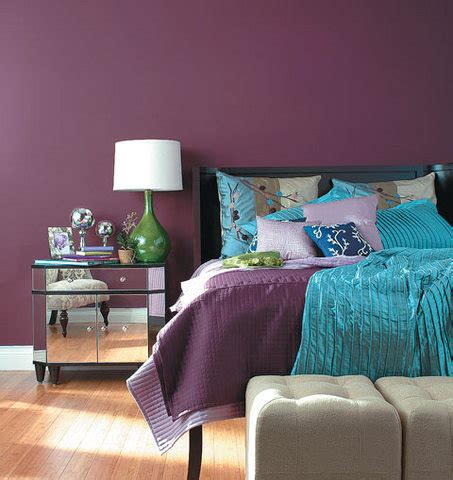 purple and blue bedrooms mauve contemporary bedroom just decorate 16812   mauve contemporary bedroom