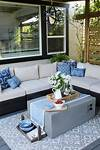 Outdoor Living - Summer Patio Decorating Ideas - Clean and outdoor patio decorating ideas