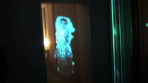 ghostly apparition terrifying halloween decoration