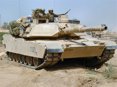 M1 Abrams In Iraq Page 1