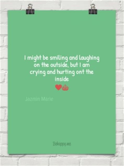 smiling  crying  quotes quotesgram