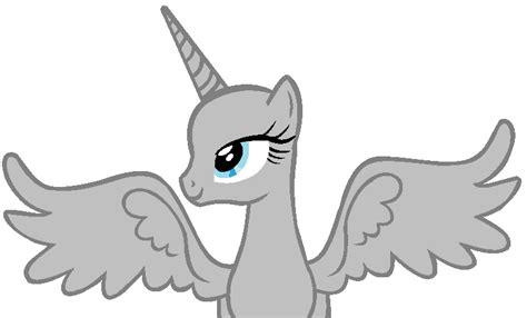 My Little Pony Alicorn Base Flying