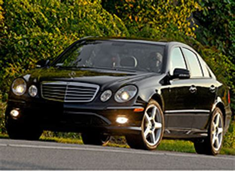 It has the sport package which gives you the 17 sport wheels, dark maple wood trim, chrome trim. Mercedes-Benz E350 sedans recalled due to rear suspension problems