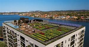 Urban Rooftop Farm Powered by Rainwater and Composted Food ...