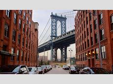 Puente de Manhattan en Nueva York, Estados Unidos